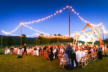 Dinner Under the Stars. Get Your Tickets.