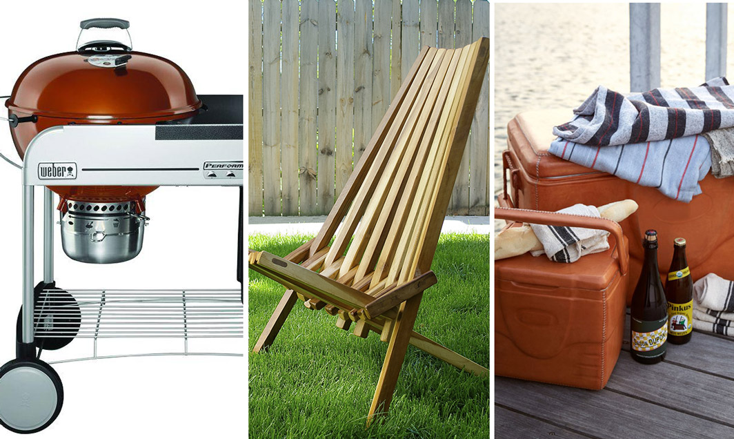 5 Things That Belong on a Man's Patio