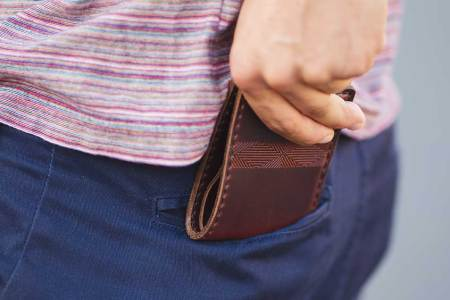 The Great Granddaddy of Leather Wallets
