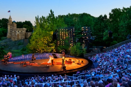 An Easy Button for Shakespeare in the Park Tix