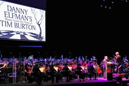 About that Tim Burton concert…