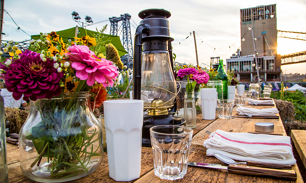 Sunset Suppers at the Domino Sugar Factory