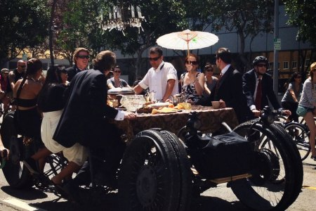 A gentleman's guide to LA's best block party