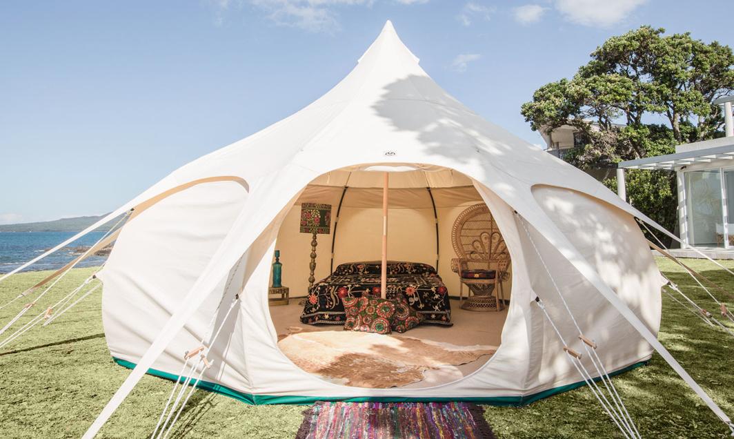 Lotus Belle: Cavernous Luxury Tents - InsideHook