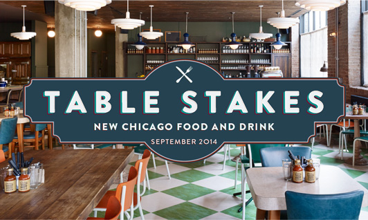 Chicago Table Stakes: September 2014