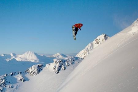 This Snowboard. Those Mountains. Go.