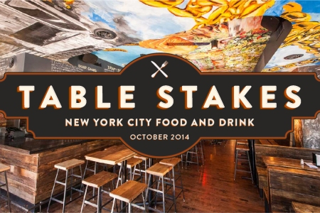 Table Stakes - October 2014 - NYC