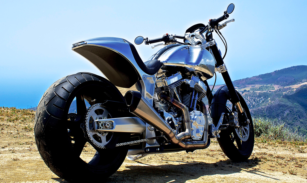 Whoa. Keanu Reeves Makes Dope Motorbikes.