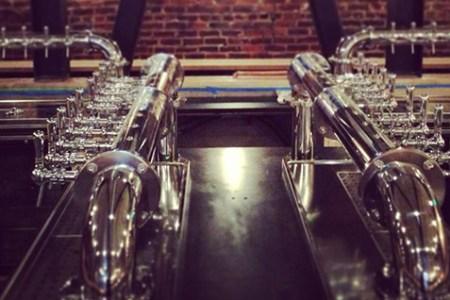 Mikkeller Bar SF's taps