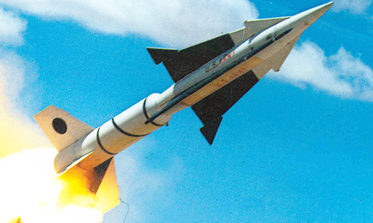 Test launch of Zeus missile