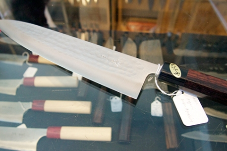 An Akifusa Masami Asai Blade at Bernal Cutlery