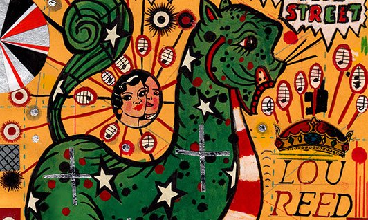 Tony Fitzpatrick: Lunch Drawings