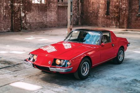 This one-off 1967 Ferrari 330 GTC Zagato is up for auction in May.
