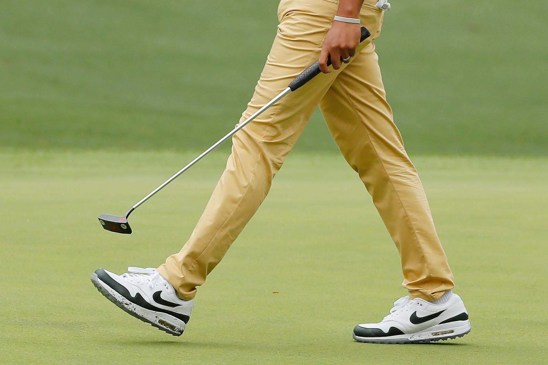 Tony Finau's Air Max Golf Shoes Are