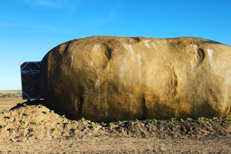 You Can Now Sleep in a Giant Potato Airbnb for $200 a Night