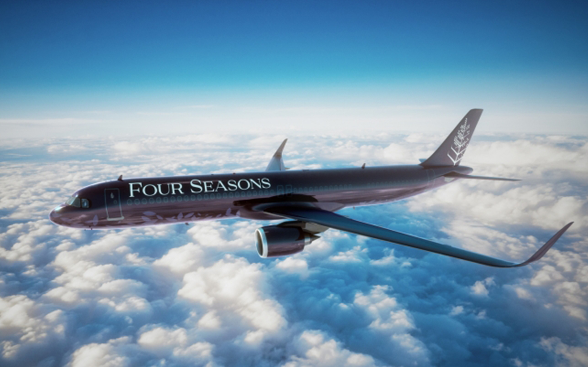 Seats on the New Four Seasons Jet Will Not Be Cheap