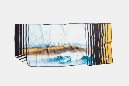 These Surf Towels Are Made From Recycled Bottles, Feature Chris Burkard Photography