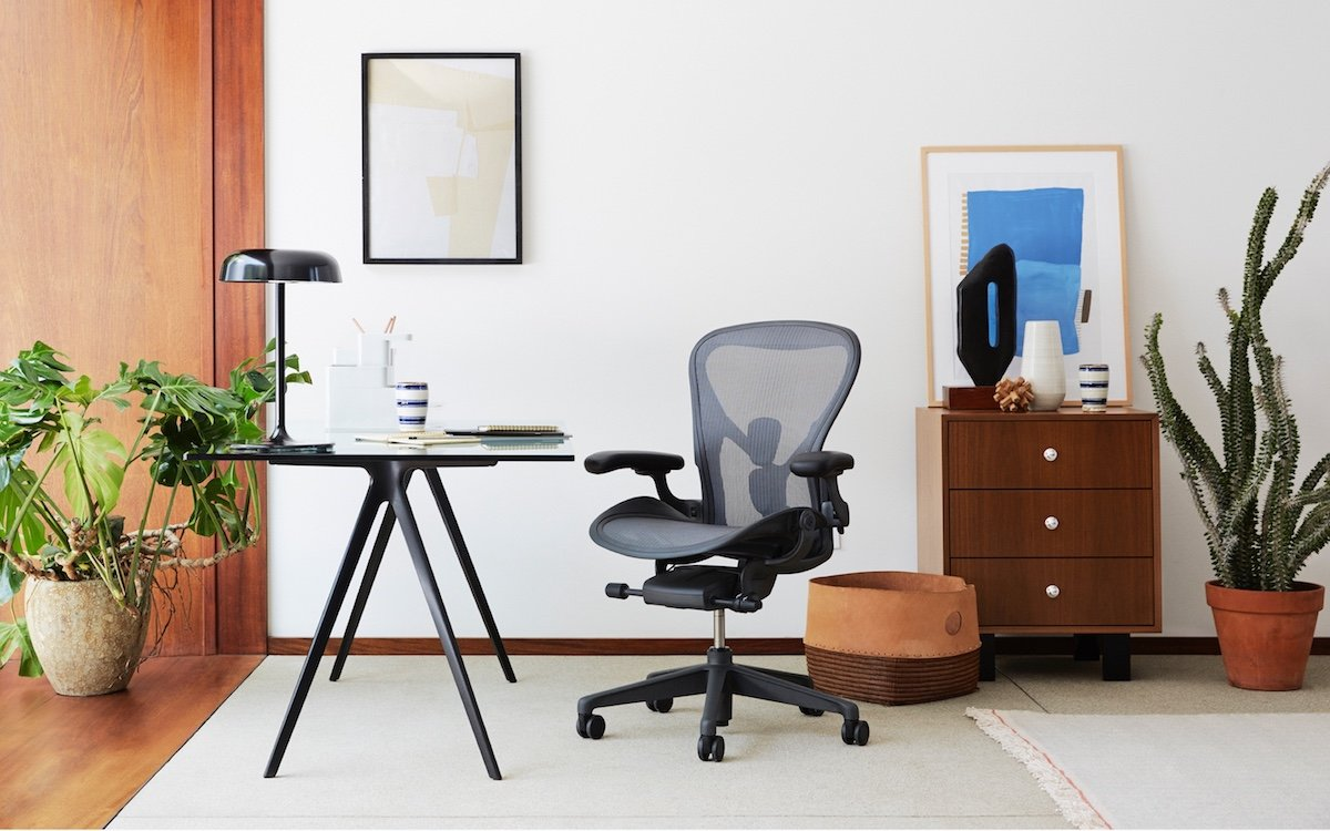 Herman Miller's Iconic Aeron Chair Is [Checks Notes] Over $500 Off