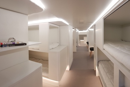 There May Soon Be Sleep Pods in the Cargo Cabins of Planes