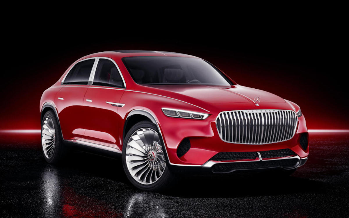 Most Expensive American Vehicle Mercedes Maybach Gls Suv Insidehook