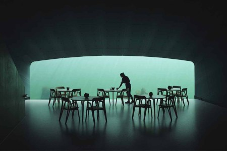 An Underwater Restaurant Just Opened on the Southern Coast of Norway