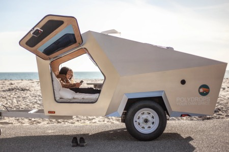 "Polydrop Isn't a Trailer, It's a ""Portable Personal Space"""