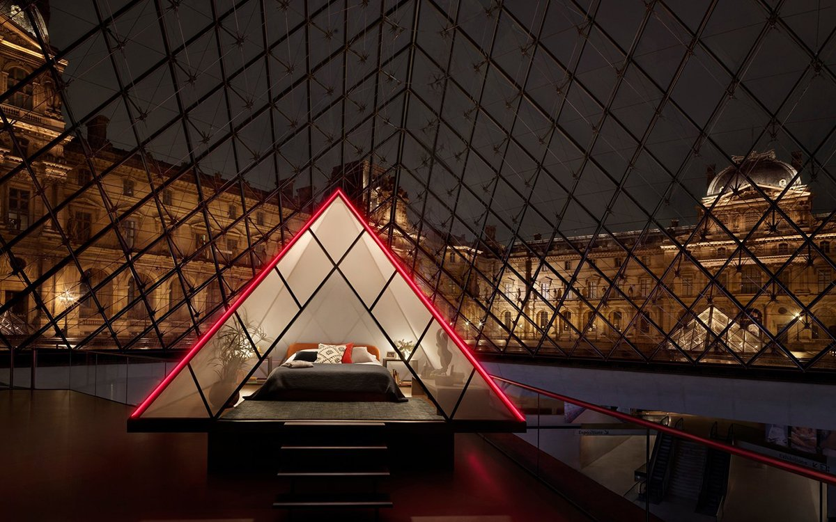 For One Night, Airbnb Is Turning the Louvre Into a Private Hotel