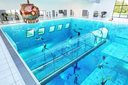 You'll Be Able to Go Scuba Diving in Poland's New 148-Foot-Deep Pool