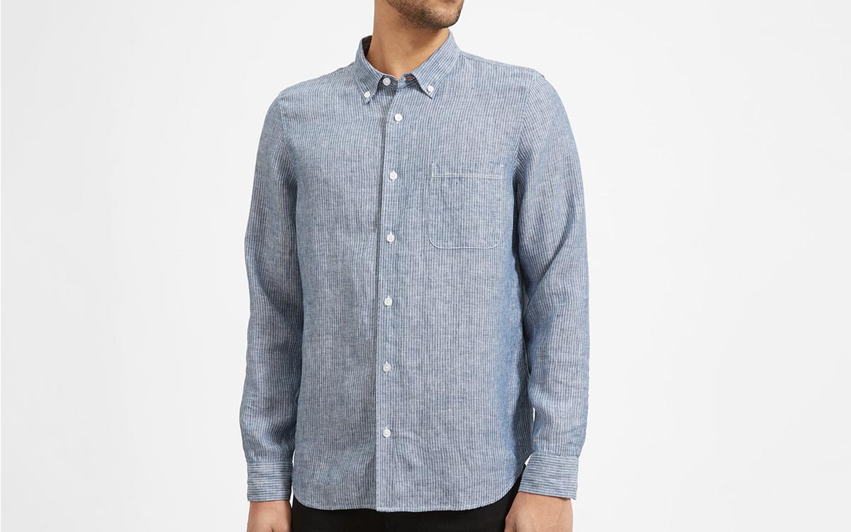 Everlane's Restocked Linen Shirts Are Perfect for Summer