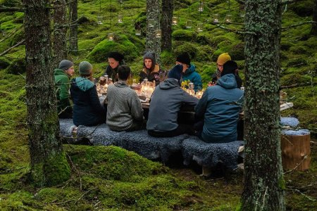 Cook and Eat Your Own Foraged, Michelin-Starred Meal in the Wilds of Sweden
