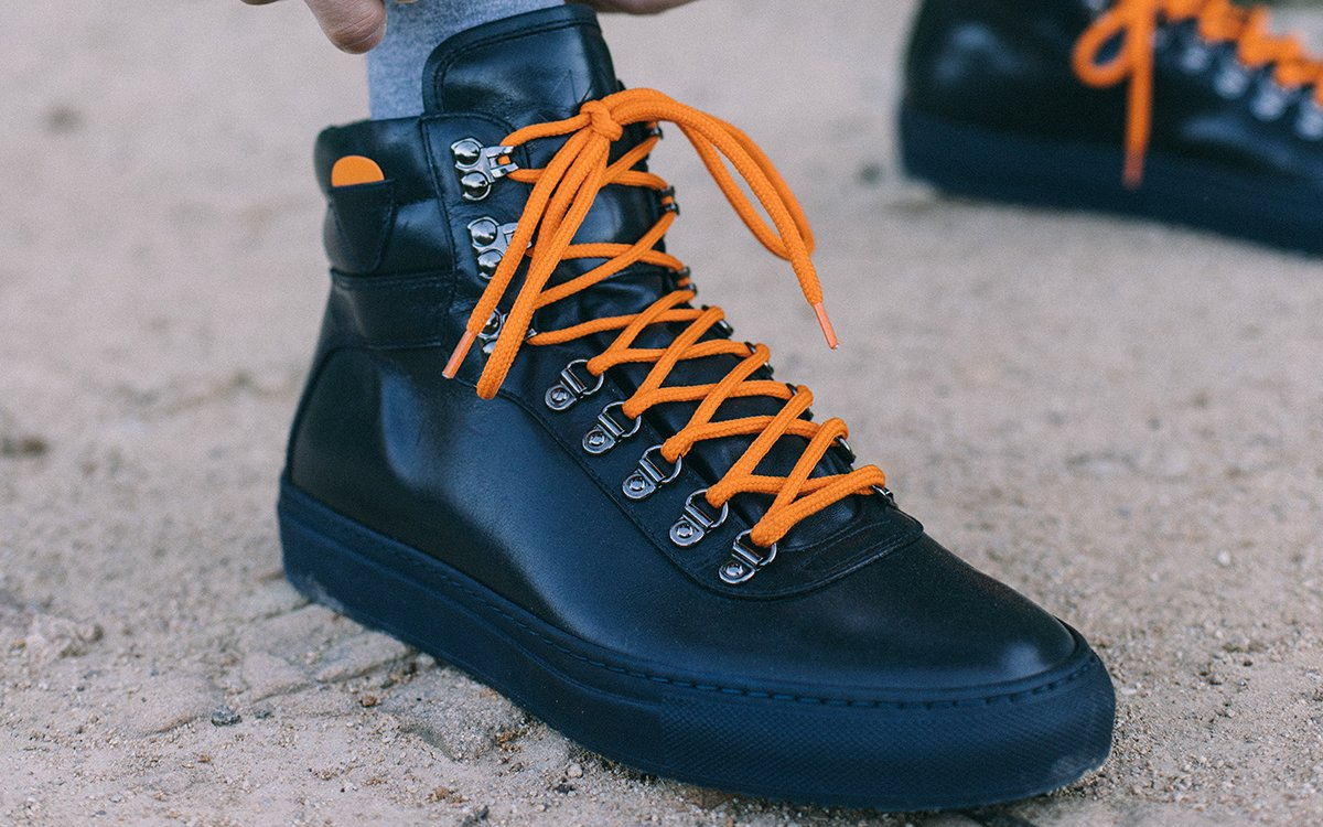 Tired of Chunky Sneakers? Try the Hiking Sneaker.