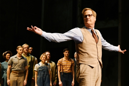 "Jeff Daniels in Broadway's ""To Kill a Mockingbird,"" which was snubbed for best play."