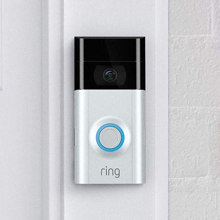 Buy discounted Ring video doorbells, get a free Echo Dot smart speaker.