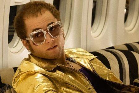 """Taron Egerton stars as Elton John in """"Rocketman"""" (Paramount)"""