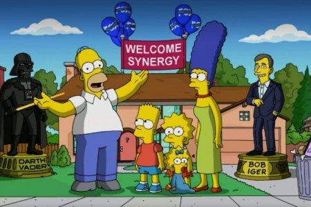 The Simpsons make their Disney+ announcement (The Walt Disney Company)
