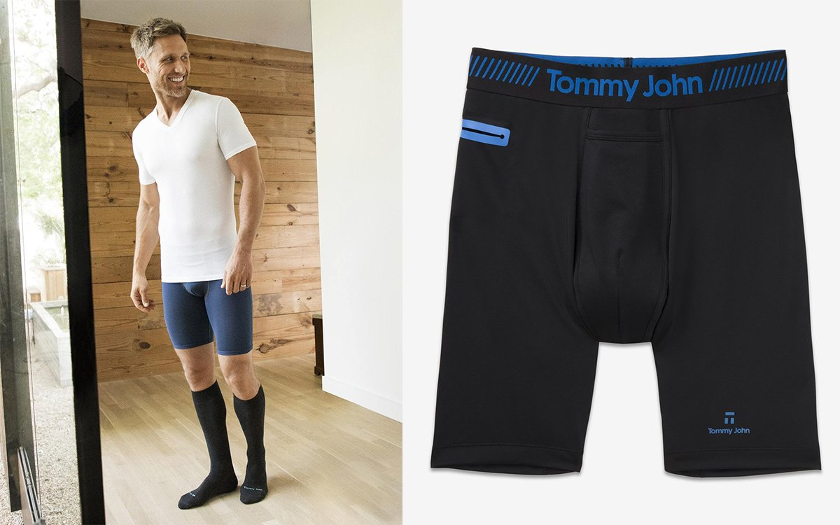 Tommy John's Game-Changing Boxer Briefs and Undershirts Are 40% Off