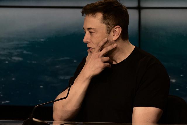 File photo, Elon Musk, 2018. (Photo credit: Flickr, Daniel Oberhaus)