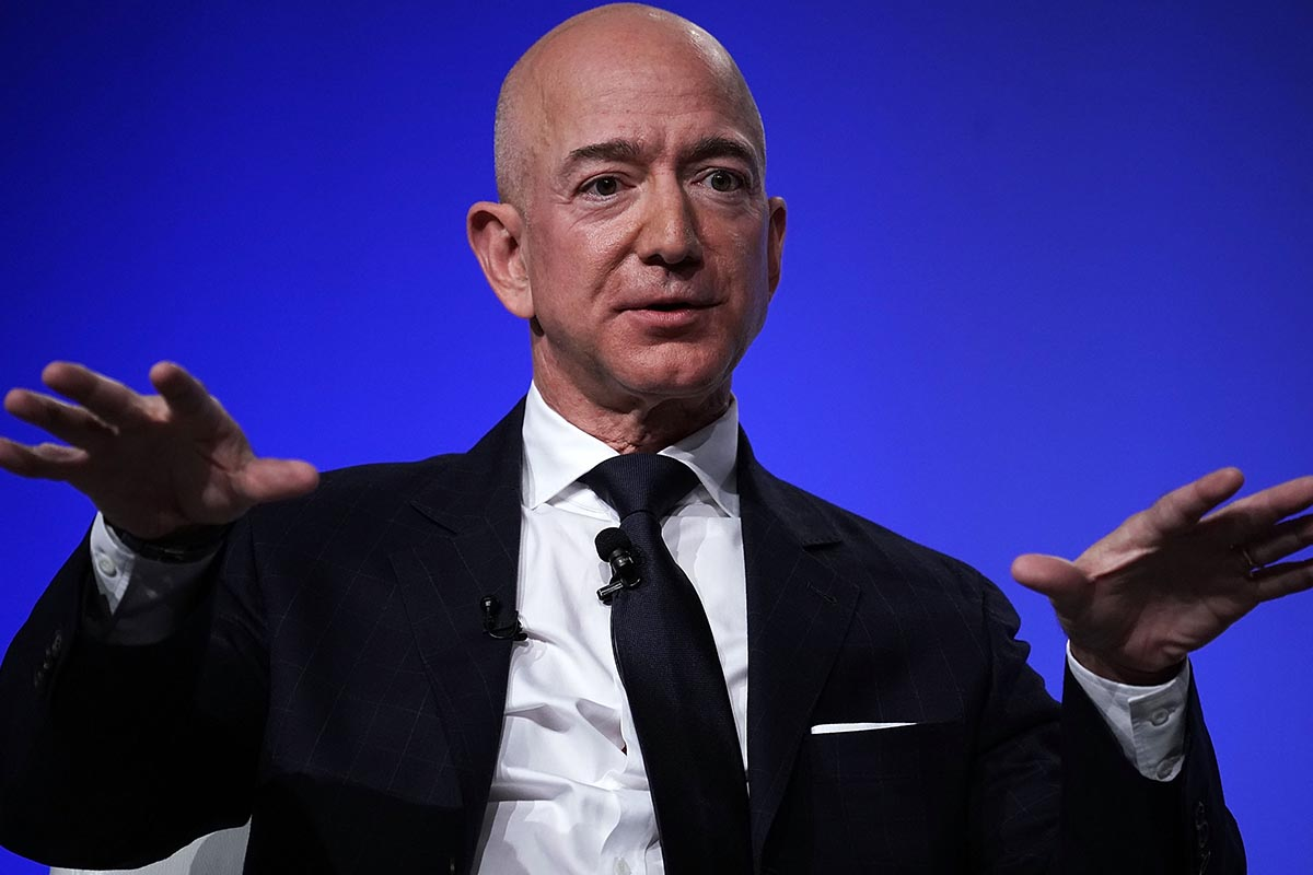 Jeff Bezos Added $13.5 Billion to Fortune in Mere Minutes