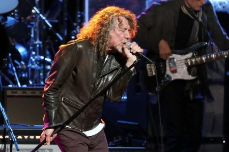 Robert Plant at the Beacon Theatre in 2019. (Taylor Hill/Getty)
