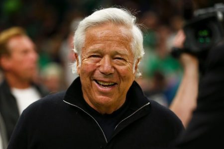 Robert Kraft, owner of the New England Patriots. (Adam Glanzman/Images)