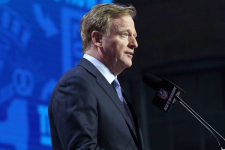NFL Commissioner Roger Goodell. (Michael Wade/Icon Sportswire via Getty)