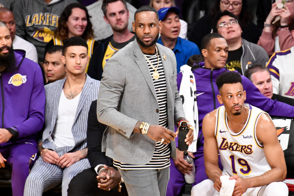 wholesale dealer 9f8eb 6e348 As the Playoffs Go on Without Him, What s Next for LeBron James in LA