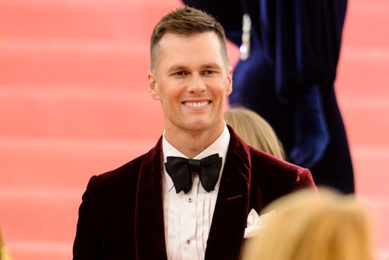 Tom Brady at The 2019 Met Gala. (Ray Tamarra/GC Images)