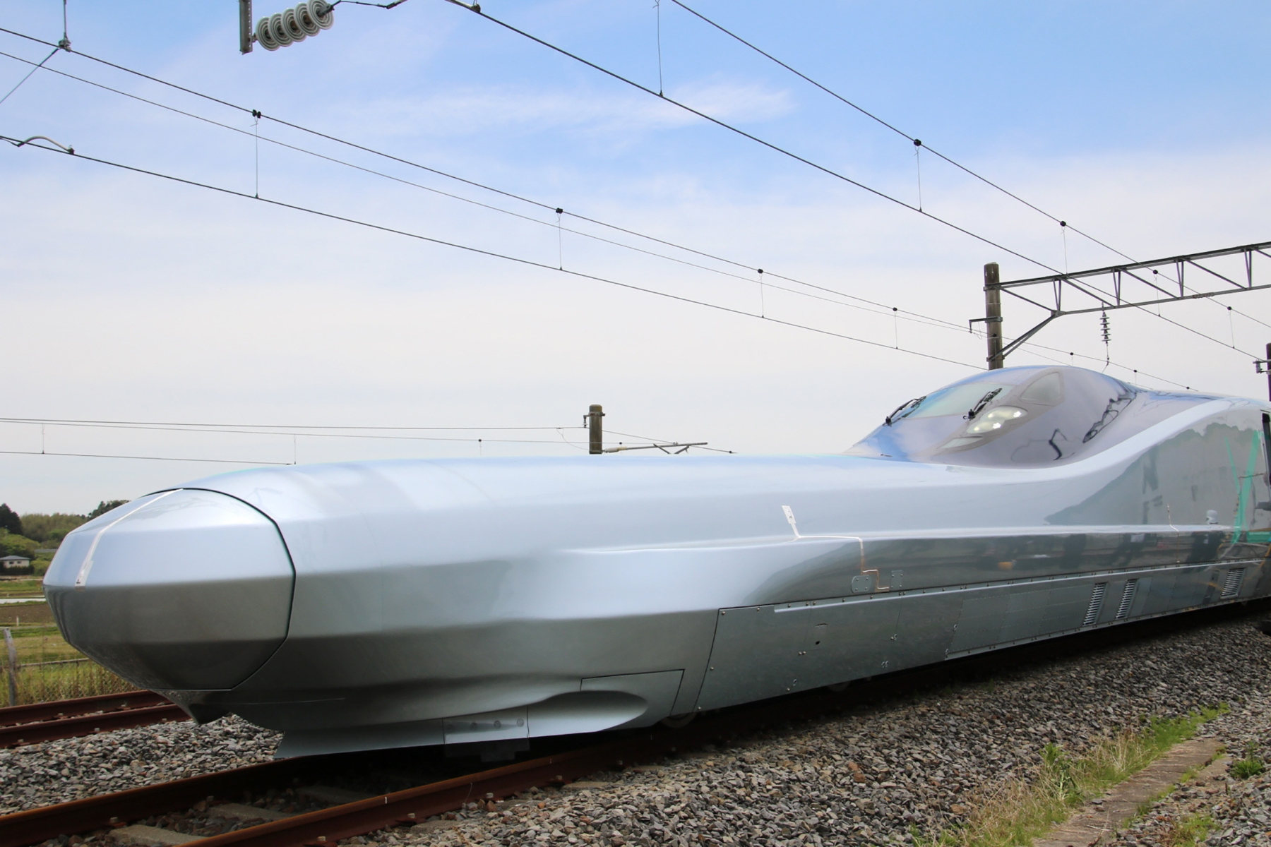 JR East's Alfa-X is the fastest bullet train in the world.