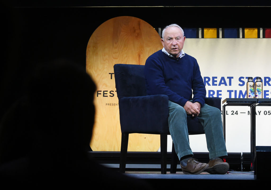 Patagonia Founder Yvon Chouinard at Tribeca Film Festival. (GettyImages)