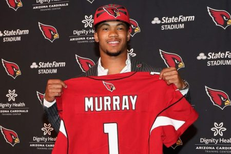 Quarterback Kyler Murray of the Arizona Cardinals. (Christian Petersen/Getty)
