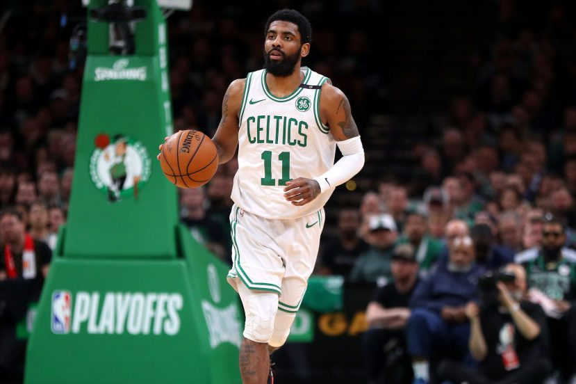 Kyrie Irving of the Boston Celtics. (Maddie Meyer/Getty)