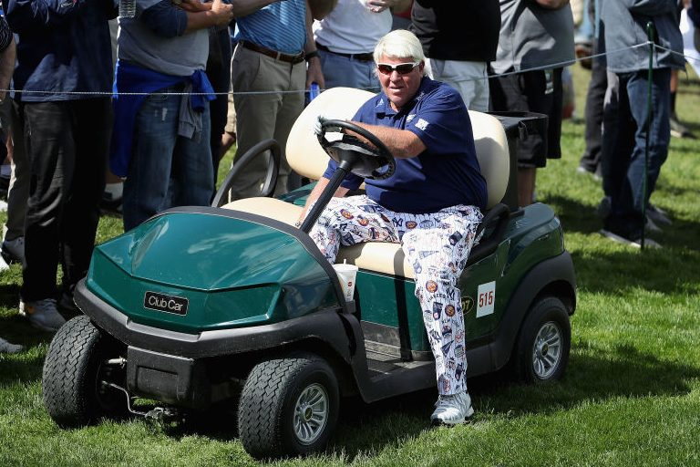 John Daly at the 2019 PGA Championship. (Christian Petersen/PGA of America/Getty)