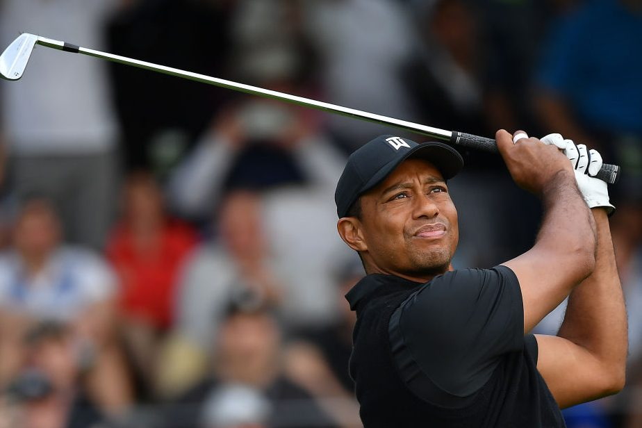Tiger Woods at 2019 PGA Championship. (GettyImages)