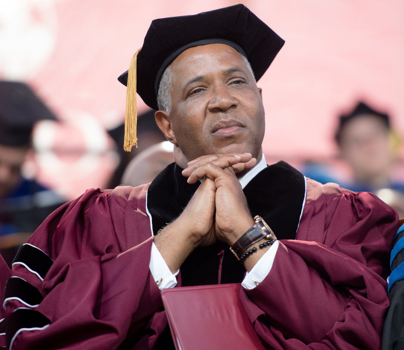 Robert F. Smith paid off the student loans of all the Morehouse College grads. (Photo by Marcus Ingram/Getty Images)